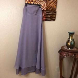 Purple prom/bridesmaid dress strapless